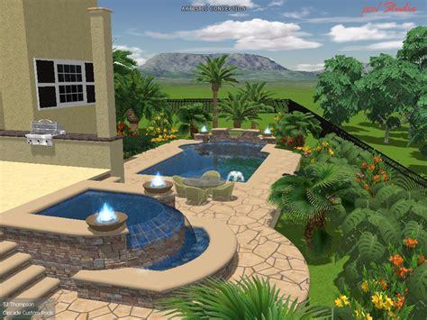 custom pool ideas pool studio designs cascade custom pools