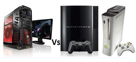 Pc Console by Pc Vs Consoles The Ultimate Showdown