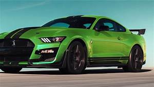 Ford unveils lime green Mustang option in time for St. Patrick's Day - YouTube