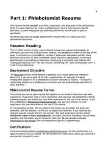 phlebotomist resume no experience resume exle 2016 phlebotomy resume exles phlebotomy resume phlebotomy resume no