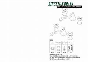 Kingston Brass Hks4478ax Modern 8 In  Widespread 2