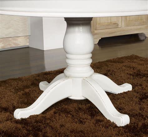 meuble en chne table ronde pied central ralise en chne massif de style louis philippe diametre