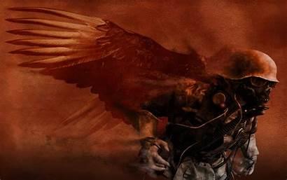 Angel Fallen Dark Soldier Wallpapers Morbid Fantasy