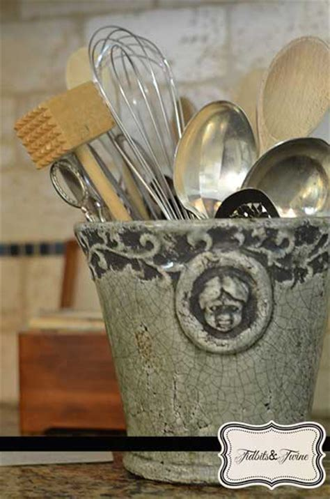 kitchen utensil holder how to decorate a kitchen stylish and practical ways to