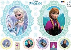 Disney Frozen Elsa and Anna Wall Stickers - wallstickery com