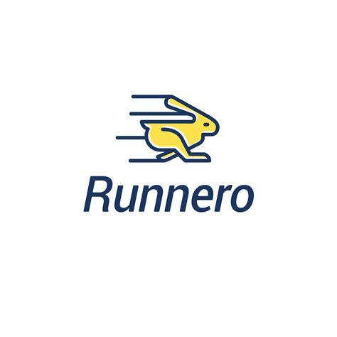 logo design sles for runnero rabbit logo design logo cowboy