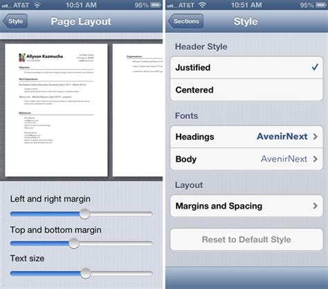 Creating Resume On Iphone by Creating Resume On Iphone 28 Images How To Make Resume