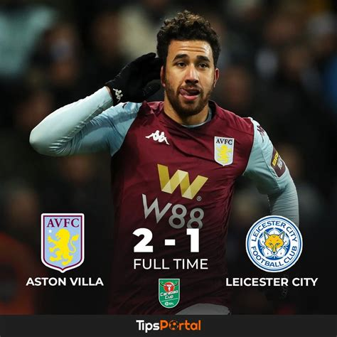 Aston Villa made the Carabao Cup finals 🏆 after a last ...