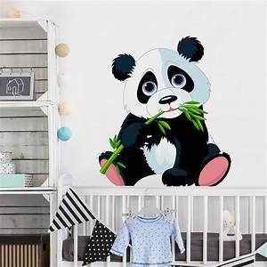 Wandtattoo Tiere Kinderzimmer : wandtattoo kinderzimmer naschender panda ~ Watch28wear.com Haus und Dekorationen