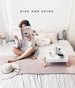Bedroom, White, Interior, Inspo, Quote