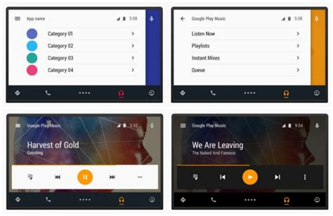 Android Auto Bedienkonzept Design by Provides New Details On Preparing Apps For Android Auto