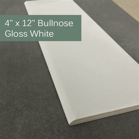 4 X 12 Matte White Subway Tile by Beveled White 4 Quot X 12 Quot Subway Tile Collection