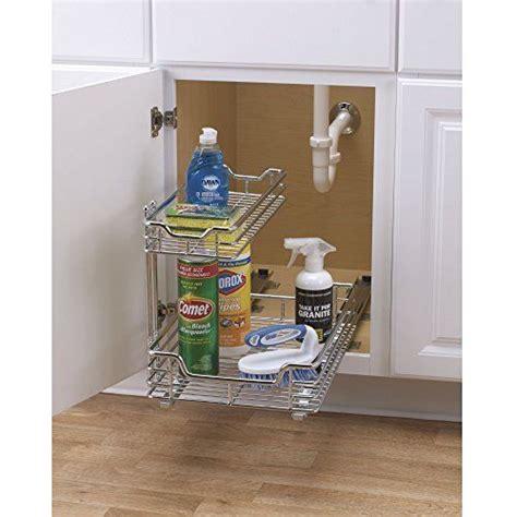 bathroom organization ideas kitchen sink storage basket cabinet sliding drawer