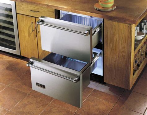 Viking DURD144DSS 24 Inch Freestanding Double Drawer