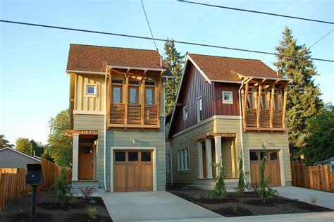 house pla narrow lot house plans home design ideas
