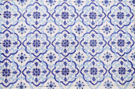 Portugiesische Handgemachte Fliesen Stockbild  Bild Von