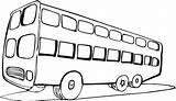 Bus Coloring Autobus Coloriage Colorier Transportation Colorare Colorear Wydrukowania Disegni Malowanki Particolare Pintar Samochody Samoloty Motory Gratis sketch template