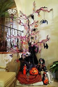 Halloween Trees With Orange Lights – Festival Collections