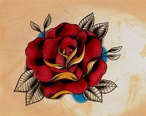 rose tattoo new school - Buscar con Google | tattoo ideas ...