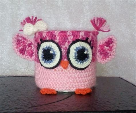 Bada Toilet by Crochet Owl Toilet Paper Holder Knitted And Crochet Home