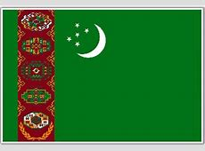 Turkmenistan Flag, Flag of Turkmenistan