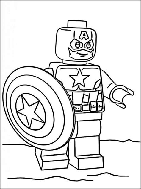 lego marvel heroes coloring pages 7 libro colorear