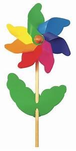 Moulin A Vent Enfant : acheter moulin vent fleur rosace color e 20 cm jouet ~ Melissatoandfro.com Idées de Décoration
