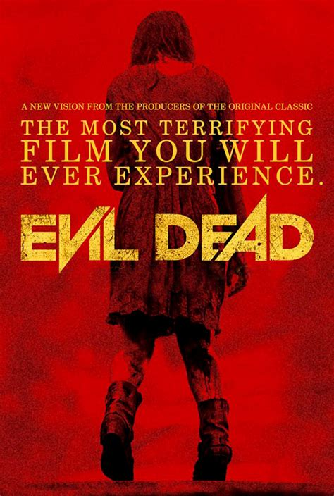 dead evil dvd date poster