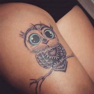 Tatouage Chouette Signification : 50 jolis tatouages hibou qui nous inspirent tatouage ~ Melissatoandfro.com Idées de Décoration