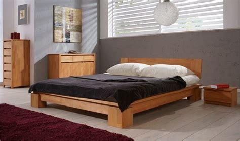 chambre bois massif lit en bois massif vinci chambre coucher adulte