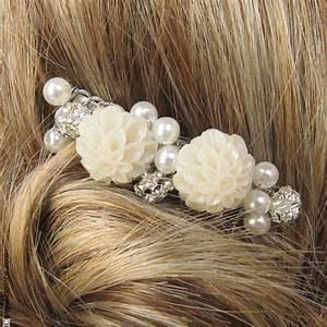 Peigne Cheveux Mariage : peigne cheveux accessoires cheveux mariage perles et fleurs ~ Preciouscoupons.com Idées de Décoration