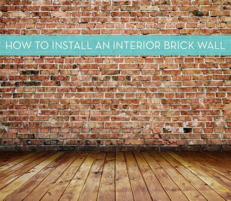 interior brick veneer cost best 25 brick veneer wall ideas on diy wall