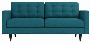 logan sofa chicago blue modern sofas by apt2b With modern sectional sofa chicago