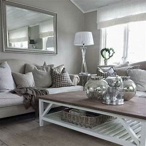 Gray, And, White, Living, Room