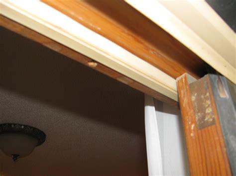 sliding wooden patio door getting harder to open