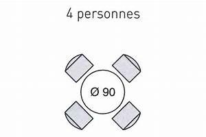Table 6 Personnes Dimensions : dimension table 8 personnes ronde ~ Farleysfitness.com Idées de Décoration