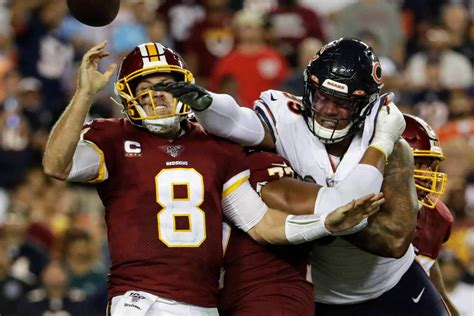 Trubisky, Bears get offense on track, defeat Redskins 31 ...
