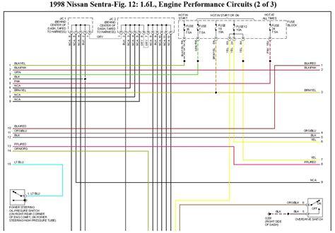 Nissan Sentra Computer Wiring Diagram