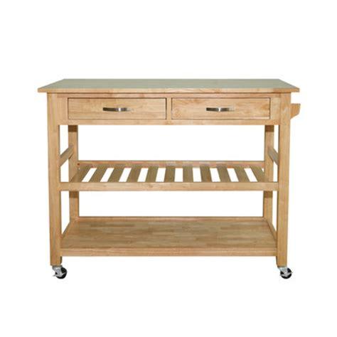 solid wood kitchen island cart buy solid wood top kitchen island cart finish