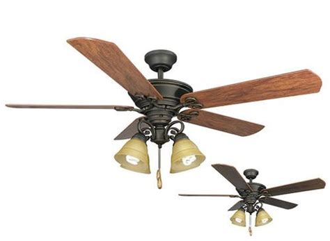 Menards Outdoor Ceiling Fans by Turn Of The Century Viente 52 In 4 Light Ceiling Fan At