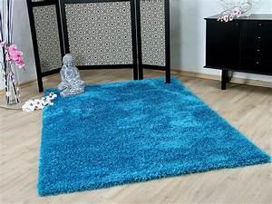 Teppich Hochflor Blau : hochflor langflor shaggy teppich glamour t rkis teppiche hochflor langflor teppiche gr n und blau ~ Indierocktalk.com Haus und Dekorationen