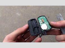 Замена батарейки в смарт ключе BMW E60 E90 E70 E87 E92 E63