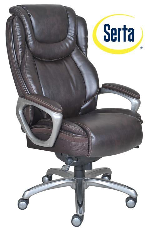 serta big and office chair 45752 serta big smart layers premium elite executive