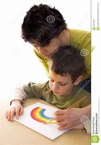 Wie Pflegt Man Einen Weihnachtsstern : wie man einen regenbogen malt stockfotografie bild 13071002 ~ Lizthompson.info Haus und Dekorationen