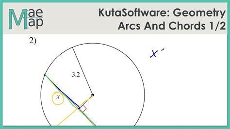 kutasoftware geometry arcs and chords part 1 youtube