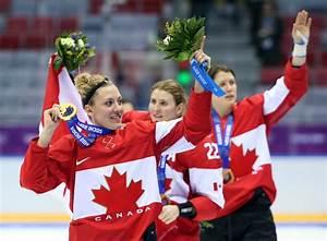 Canadian women's hockey team wins Olympic gold ...