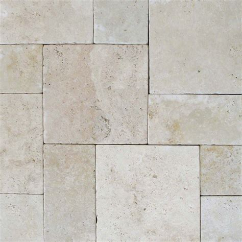 tumbled pavers price tuscany beige 10 kits tumbled pavers tile