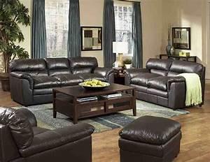 Leather, Living, Room, Furniture, Sets