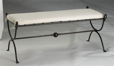 banc de lit fer forge