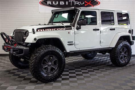 jeep wrangler white 2018 jeep wrangler rubicon recon unlimited white